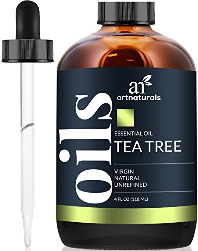 ArtNaturals 100% Pure Tea Tree Essential Oil - (4 Fl Oz / 120ml) - Natural Premium Melaleuca Therapeutic Grade - Great with Soap and Shampoo, Face and Body Wash - Treatment for Acne, Lice by ArtNaturals