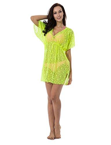 RELLECIGA - Camisola - para mujer Neon Yellow