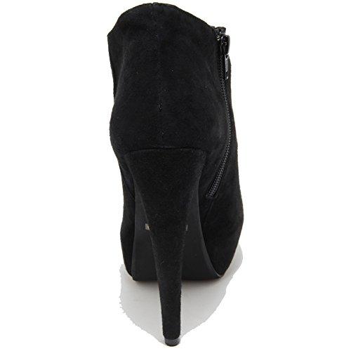 Campbell Donna 7753F LE Nero Shoes CHIC Women Scarpa Decollete Jeffrey PnFqOdHwP