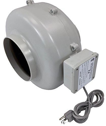 Tjernlund P-6 Plastic High Pressure In-Line Duct Booster Fan, 6