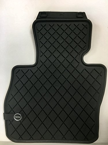 MINI COOPER CLUBMAN 2016 All Weather Floor Mats Essential Black / Front