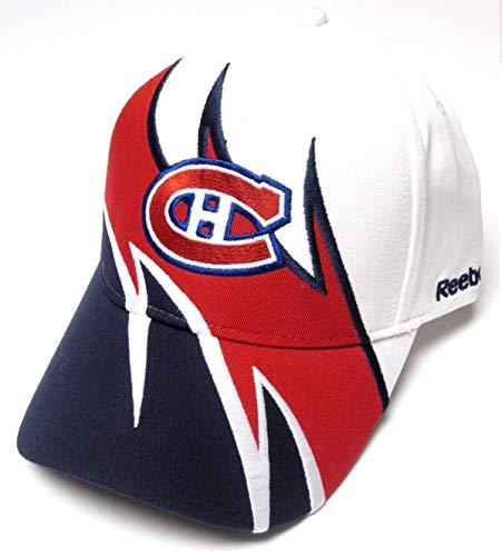 Reebok Montreal Canadiens Colorblock Adjustable Hat - Montreal Canadiens Adjustable