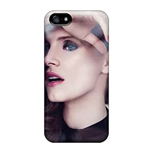 Iphone 5/5s MUDApNB1570vSTZT Jessica-chastain Tpu Silicone Gel Case Cover. Fits Iphone 5/5s by icecream design