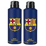 FC Barcelona Blue Combo Pack Of 2 Deodorant Spray – For Men