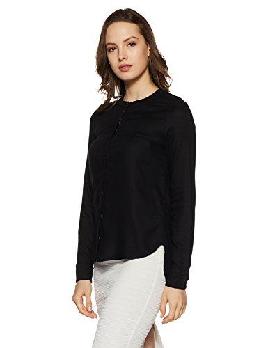 Vero Black Noos Vmcathy LS Blouse Femme Noir Shirt Moda wfwUqAz