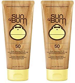Sun Bum Moisturizing uMzEq Sunscreen Lotion, 3-Ounce, SPF 50 (2 Pack)