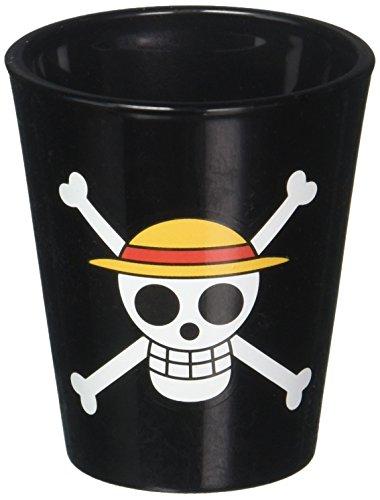 One Piece Straw Hat Pirates Jolly Roger Shot Glass