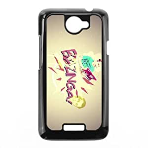 Bazinga HTC One X Cell Phone Case Black Pkieg