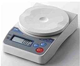 Scale,AND HL-2000i Compact Scale, 2000 x 1g, Battery Operated