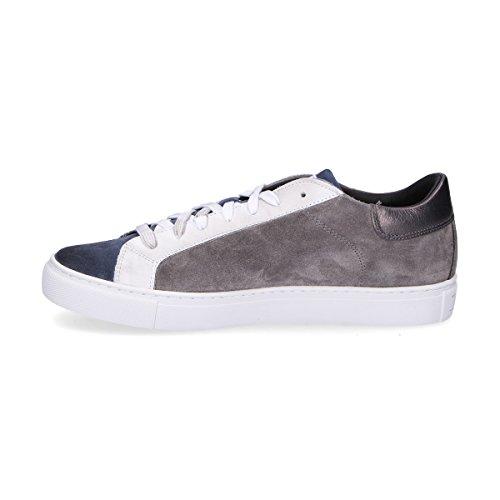 Womsh Mannen S270254 Grijs Suède Sneakers