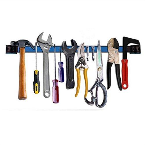 CoCocina 12 Inch Magnetic Tool Holder Racks Metal Hardware Tool Bar For Garage Workshop