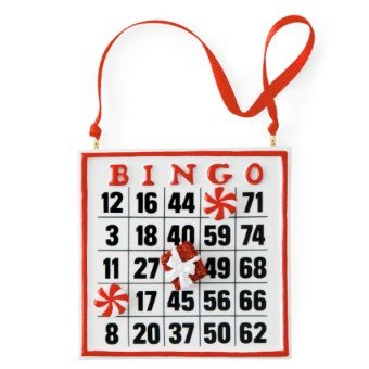 Hallmark Direct Imports 2013 DIR4319 Bingo (Bingo Ornament)
