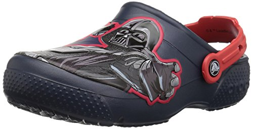 Crocs Kids' Fun Lab Star Wars Dark Side Clog, navy, 5 M US Toddler]()