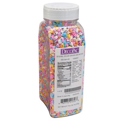 17oz Deluxe Easter Quin Sprinkles Mix