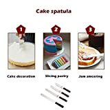 Cake Spatula set Metal Butter Knife Set for