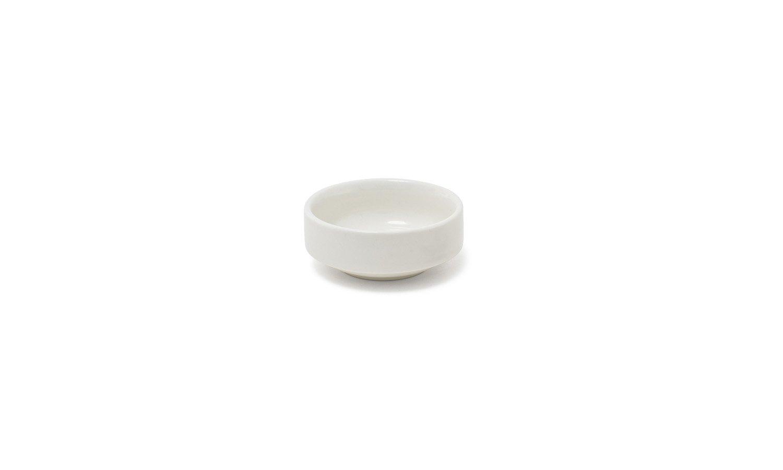 Front of the House ASC016BEP23 Monaco Ramekin, 3'' Diameter, 1.25'' Height, 3 oz, Porcelain, Eurowhite, (Pack of 12)