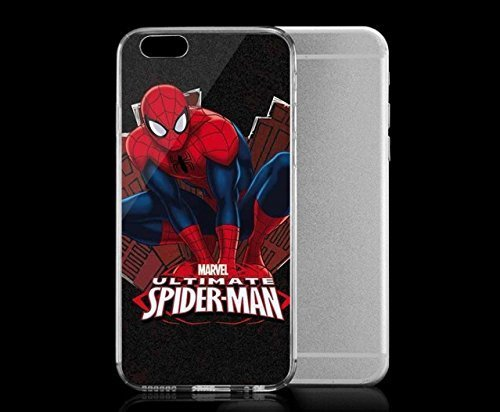Light weight with strong PC plastic case for Iphone 6 Comics Marvel Spider-Man Ultimate Spider-Man