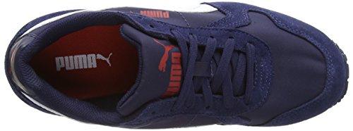 Puma ST Runner NL - Zapatos para correr unisex Blanco (Peacoat/White)
