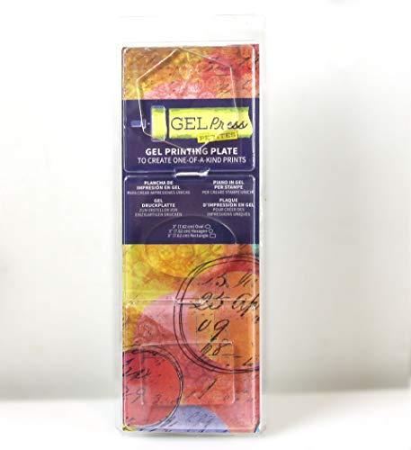 Oval Gel - GELPRESS 10812-HEX Gel Petites 3/Pkg-Oval, Hexagon, Rectangle
