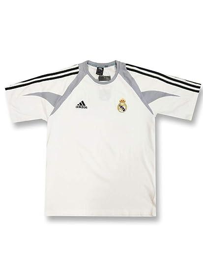 adidas - Real Madrid Camiseta ENTRENO Algodon BL 04/05 Hombre ...