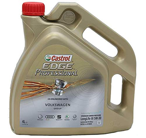 Castrol Edge Professional 5w-30 Longlife III Aceite para motor, Paquete de 7 x 1 litro