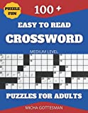 Crossword Puzzles for Adults Large Print: Crossword