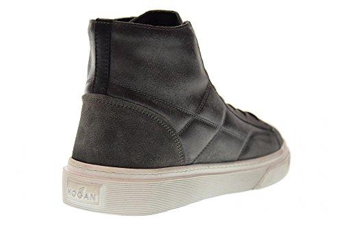 Espadrilles H340 De Hxm3400j560htq297n Mod.hi Top Gris Chaussures Hommes Hogan