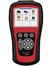Autel Diaglink OBD2 Car Code Reader All Systems Diagnostic Tool for Engine, Gearbox, ABS, Airbag, SRS and More, with EPB Oil Service Light Reset (DIY Version of MD802)