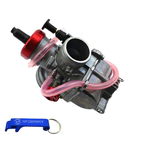 TC-Motor Racing PE28 Carburetor 28mm Carb For ATV Quad 4 Wheeler Pit Dirt Motor Bike Scooter Moped Motocross ()