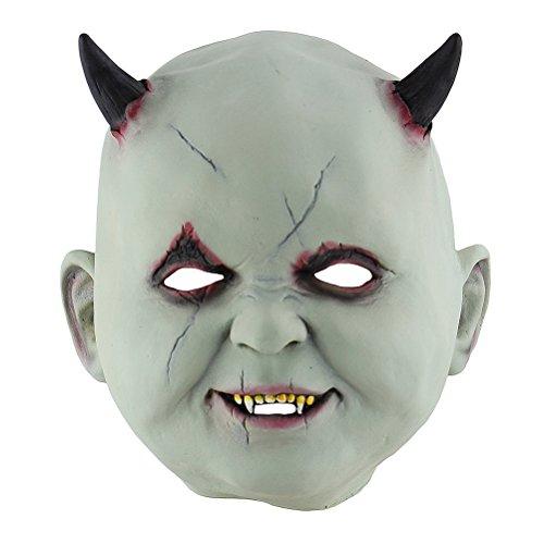 Halloween Cosplay Mask Horrific Mask Creepy Terrifying Little
