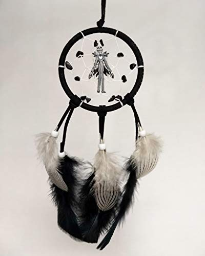 Nightmare Before Christmas Dreamcatcher/Jack Skellington Dream Catcher/Black and White Car Dreamcatcher