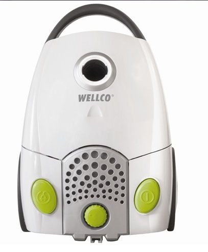 Wellco Compact Cylinder Vacuum Cleaner Bagged - 1200 Watts