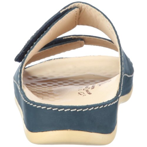 Vital Vital 0938-03-78 - Sandalias de cuero nobuck unisex Azul