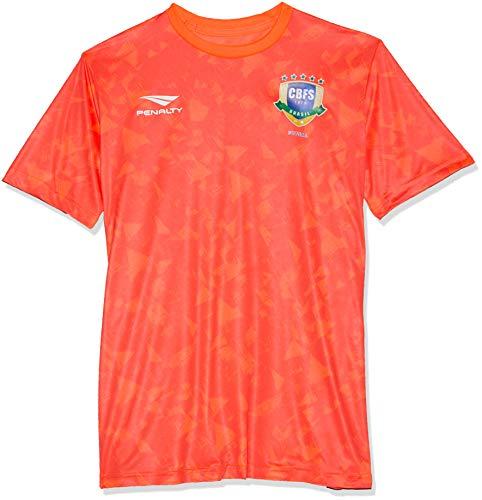 Camisa cbfs aquecimento penalty masculino coral m