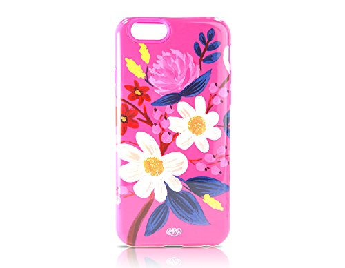 Sonix Lenntek Inlay Case for iPhone 6 - Retail Packaging - Jasmine Floral Pink