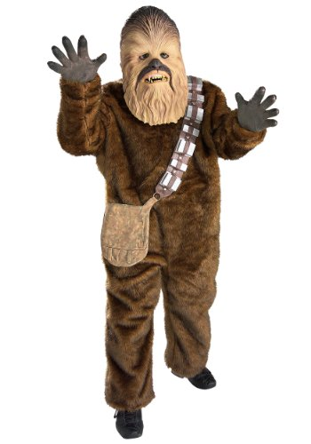 Star Wars Disney Chewbacca Super Deluxe Child Costume Large -
