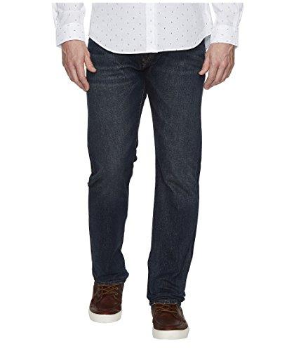 (Ralph Lauren Men's Hampton Straight Jeans, Size 35x32, Dark Blue Denim )
