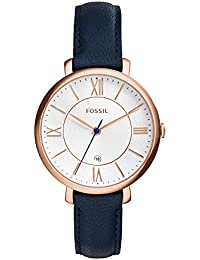 Women's Jacqueline Quartz Stainless Steel and Leather...