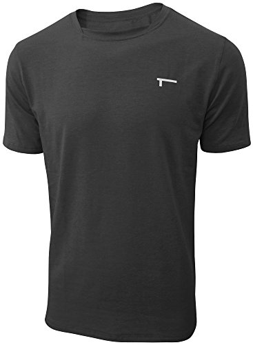 TREN Herren COOL Performance Cotton Stretch SS Tee T-Shirt Kurzarm Schwarz 001 - M