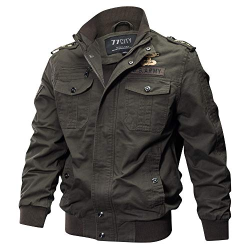 HYIRI Factory Sale Breathable Coat,Men's Military Clothing Pocket Tactical Outwear