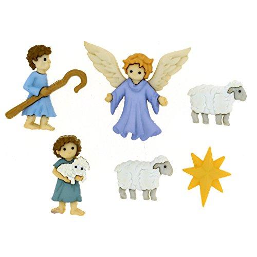 The Good Shepherd buttons
