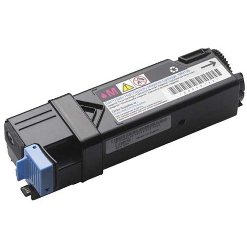Dell P240C 1320C 2130 2135 Toner Cartridge (Magenta) in Retail Packaging