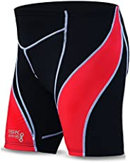 Brisk New Cycling Short for Men Black with Padded Liner Large