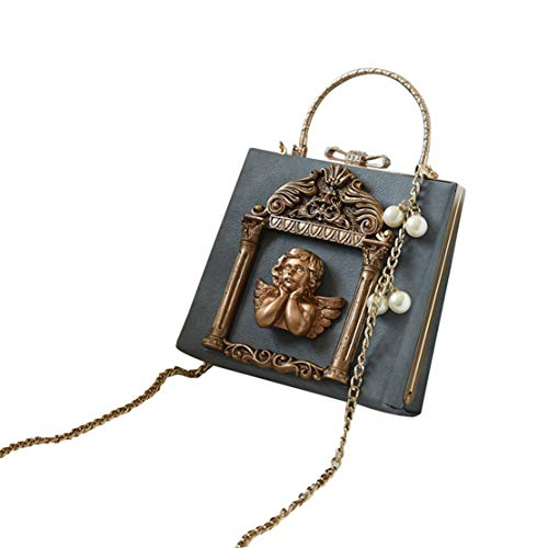 Bandoleras Mujer Handbag Bag Soul Pu Salvaje Mensajero Caja Cremallera Cubo Cuero Messenger Del Bolsa Azul De Tirón Lentejuelas Tapa Jamie Dama TatASwTx