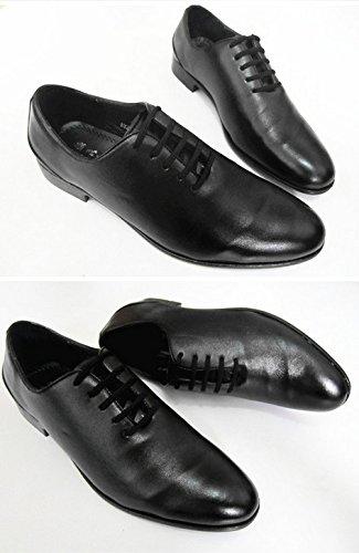 Hochzeit Synthetik Party Heel schwarz weiß Boss Cuban Weiß Schnürhalbschuhe Leder Oxford Schuhe Nonbrand XwE8x8