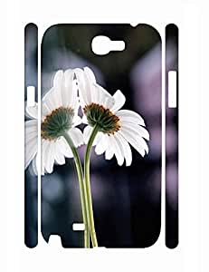 Funky Custom Elegant Daisy Slim Samsung Galaxy Note 2 N7100 Phone Snap On Case