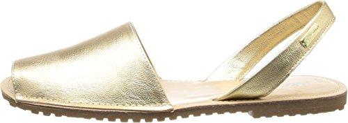 Kenneth Cole REACTION Women's Wipe Away Huarache Sandal,Gold,7.5 M US