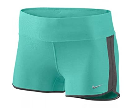 Nike – Pantalones cortos de running para mujer, negro, L