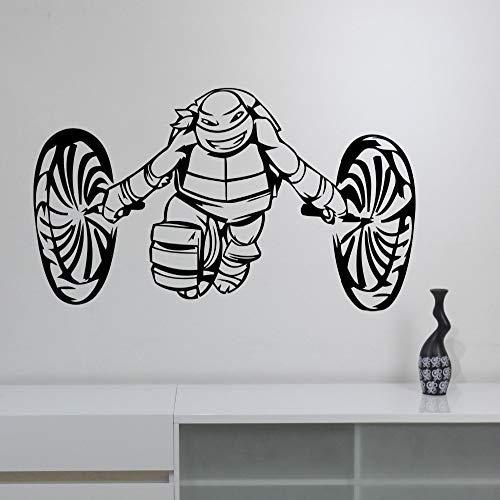 Tartarughe ninja Adesivo Ragazzi Decorazioni per camera da ...
