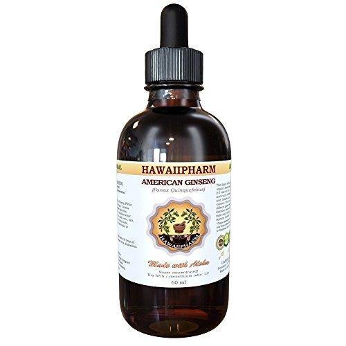American Ginseng (Panax quinquefolius) Liquid Extract 4 oz